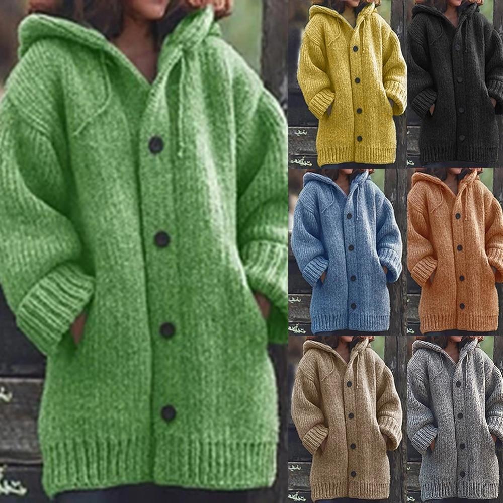 Trendy Oversized Sweater Coat