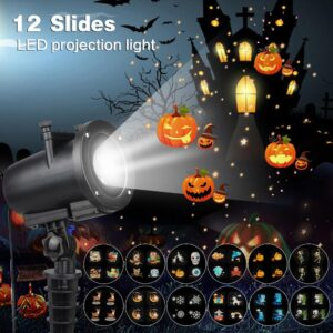 LED Party Anime Pattern Projector
