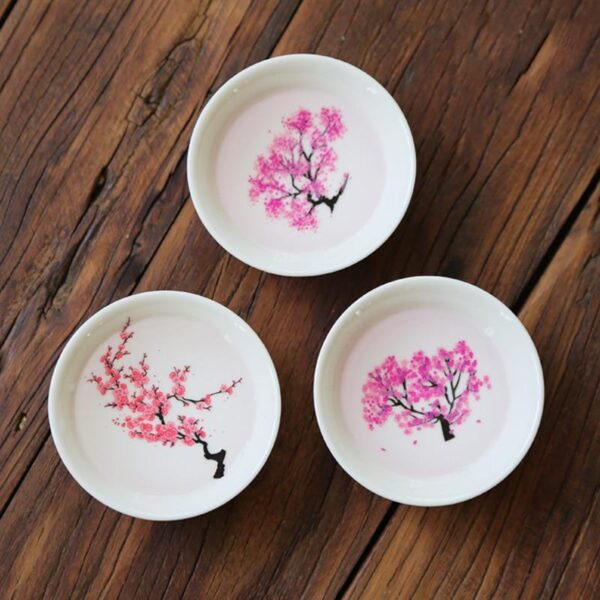 Japanese Magic Sakura Cup Cold Temperature Color Changing Flower