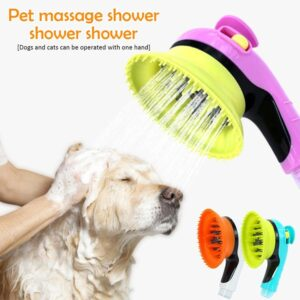 Rubber Massage Dog Bath Sprayer