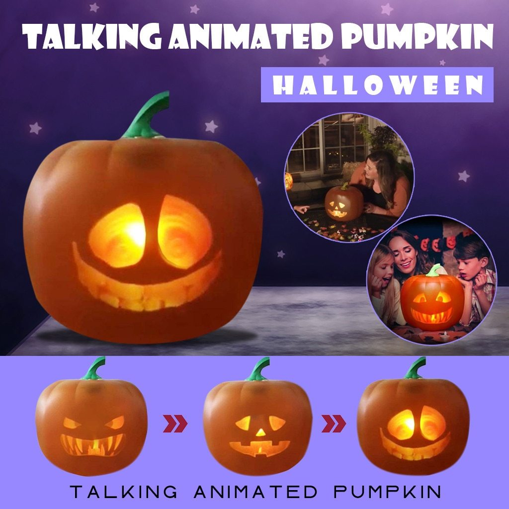 Pumpkin Built-in Projector & Speaker